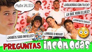 ¡PREGUNTAS MUY INCÓMODAS! 🤭Con #LosXOBIS 🔥Las PREGUNTAS más SALSEANTES 🤐Q&A