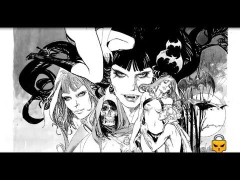 Sketching Vampirella by ZESAR