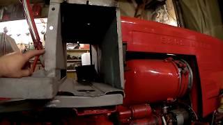 Ремонт кабины Т-25
