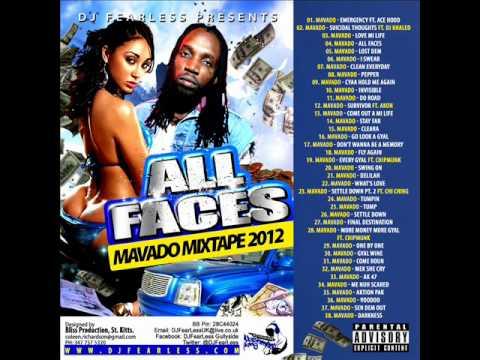 Mavado Mix - All Faces (DJ FearLess)