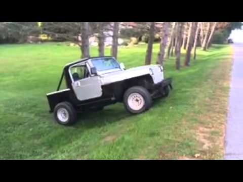 93 Jeep Wrangler Yj Half Cab Project Youtube