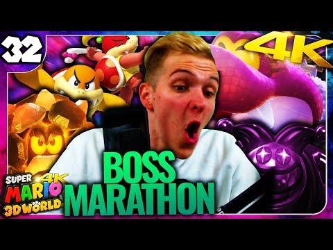 Der große Boss-Marathon! ⭐️ Super Mario 3D World 4K #32