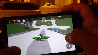SMR Game playing Roblox