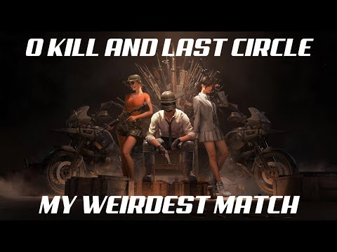 0 KILL AND LAST CIRCLE 😱 || I found no one in the match || PUBG MOBILE