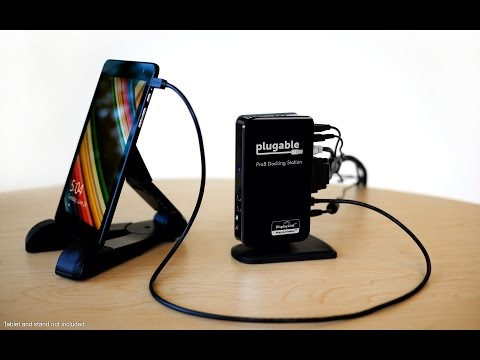 Plugable Pro8 Charging & USB Dock for the Dell Venue 8 Pro and More