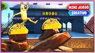 🌮*NUEVO PARKOUR DE TACO BELL*🌮 (FORTNITE CREATIVO)
