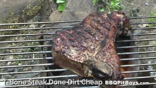 T Bone Steak recipe Blues by the BBQ Pit Boys