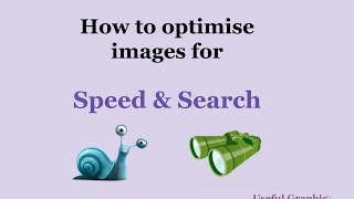 How to optimize your images for search and speed