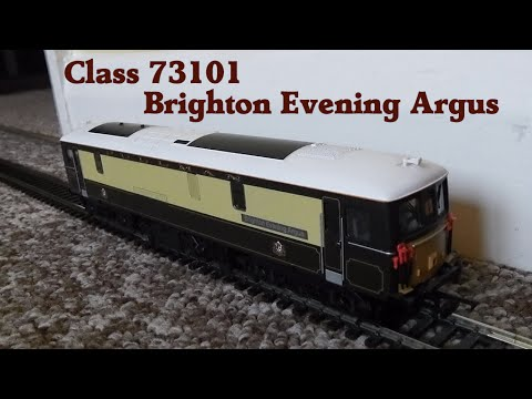"Hornby Class 73101 ""Brighton Evening Argus"". Pullman livery"