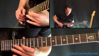 Welcome Home (Sanitarium) Guitar Lesson - Metallica - Second Solo