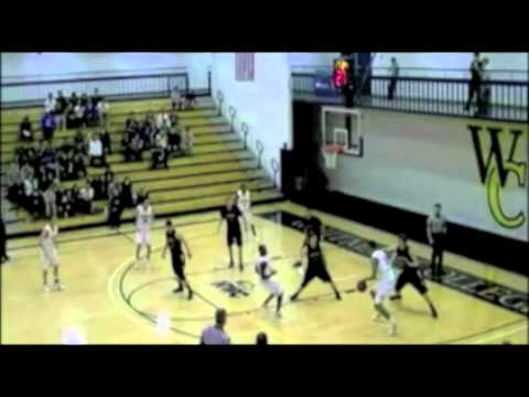David Michaels #15 Whitman Basketball
