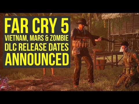 Far Cry 5 DLC Release Date ANNOUNCED For All Expansions (Far Cry 5 Season Pass)
