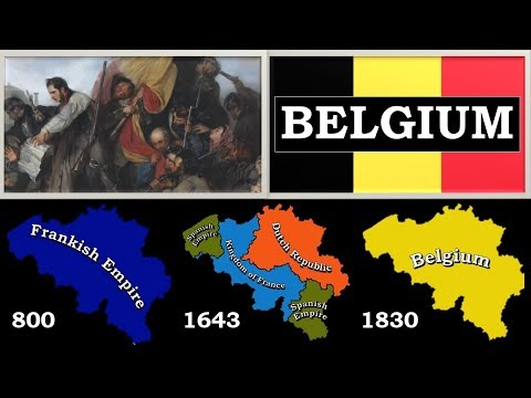 History of Belgium (since 57 BC) - Every Year