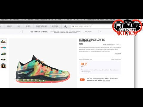 Live Nikestore Countdown Timer Fail For Me On