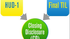 Closing Disclosure vs. HUD-1 Settlement Statement