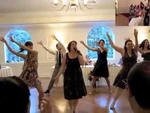 Kendra And Zachs Wedding Reception Flash Mob Youtube