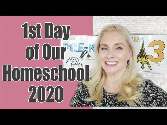 1st DAY OF OUR HOMESCHOOL 2020 | Back to School | 2020-2021 School Year is Officially Underway
