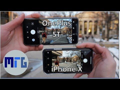 ONE PLAS 5T VS IPHONE 7