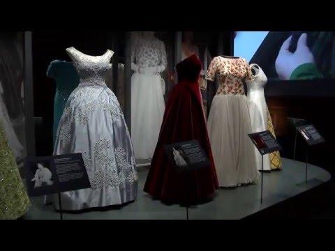 The Queen's dresses displayed in Edinburgh exhibition