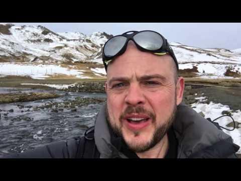 Hveragerdi Hot Spring River Trail, Iceland