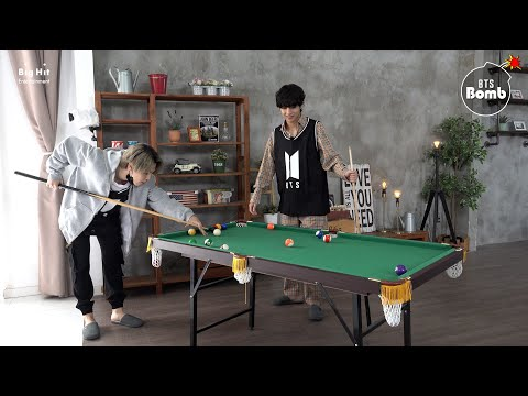 [BANGTAN BOMB] Jimin vs V Pool Game