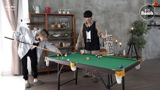 [BANGTAN BOMB] Jimin vs V Pool Game - BTS (방탄소년단)