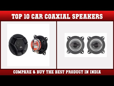Top 10 Car Coaxial Speakers to buy in India 2021 | Price & Review
