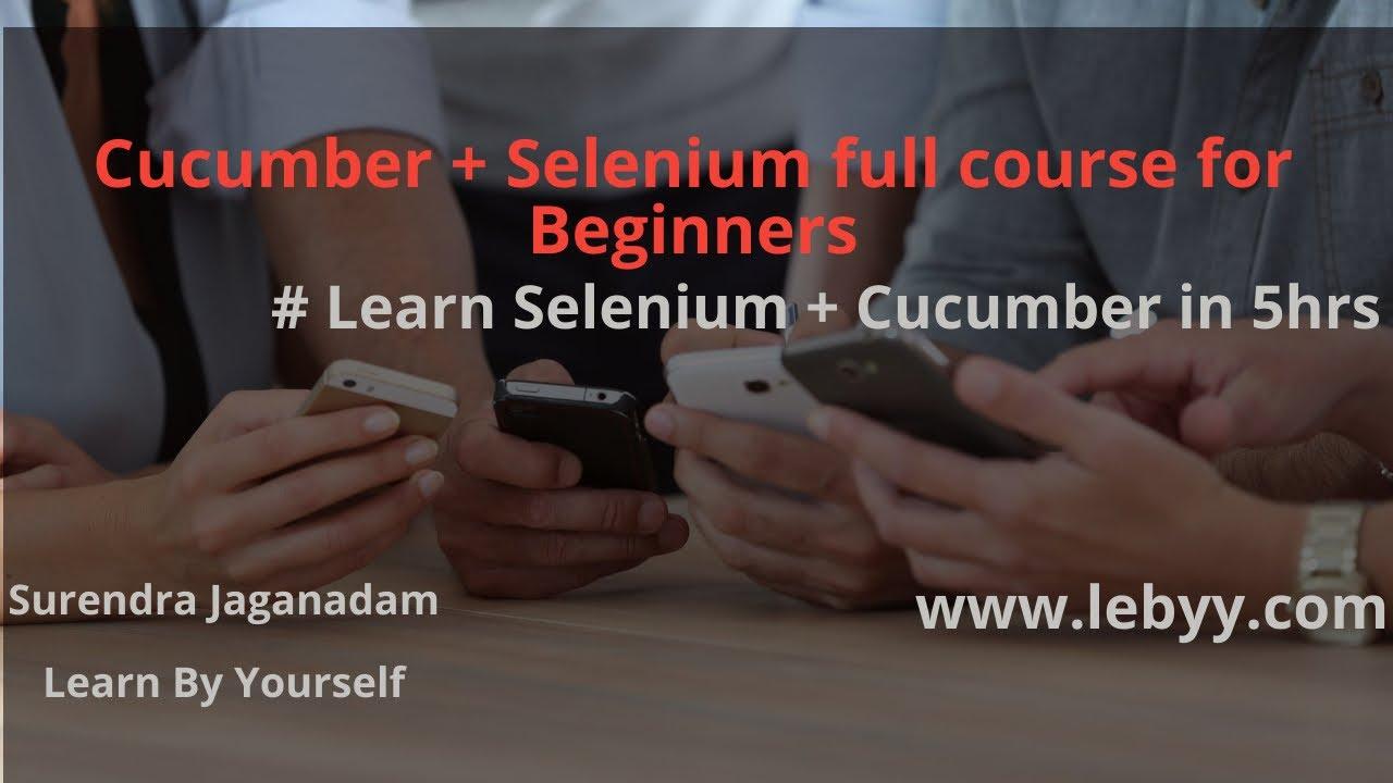 Download Cucumber Selenium Tutorial   Selenium with Cucumber BDD  Cucumber BDD Framework Full Course