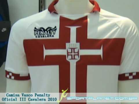 5bfd0c0d7c002 Camisa Vasco Penalty Oficial III Cavalera 2010