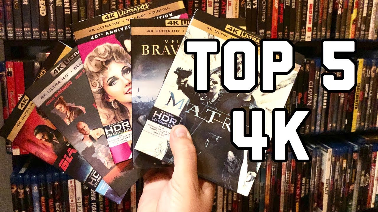 Top 5 4K Blu-ray Movies from the First Half of 2018!