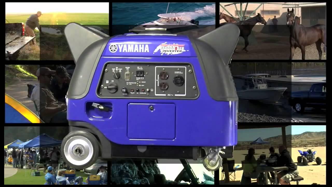 Yamaha ef3000ise generators youtube for Yamaha ef3000ise inverter generator