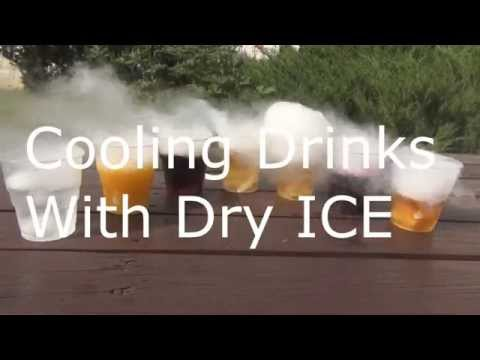 How to make drinks with dry ice