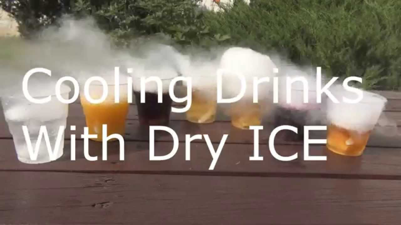 DRY ICE in DRINKS  YouTube