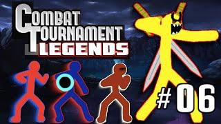 Combat Tournament Legends Part 6 (I Beat The Final Challenge)