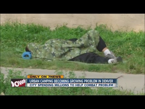 Urban camping a growing problem in Denver