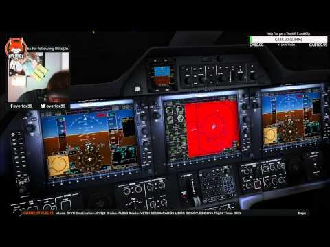 Departure from Calgary Full ATC #FSX Phenom 100