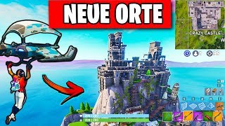 NEW Places for Risky Reels are GENIAL 😱 Crazy Castle from Season 6 | Fortnite Season 7 English