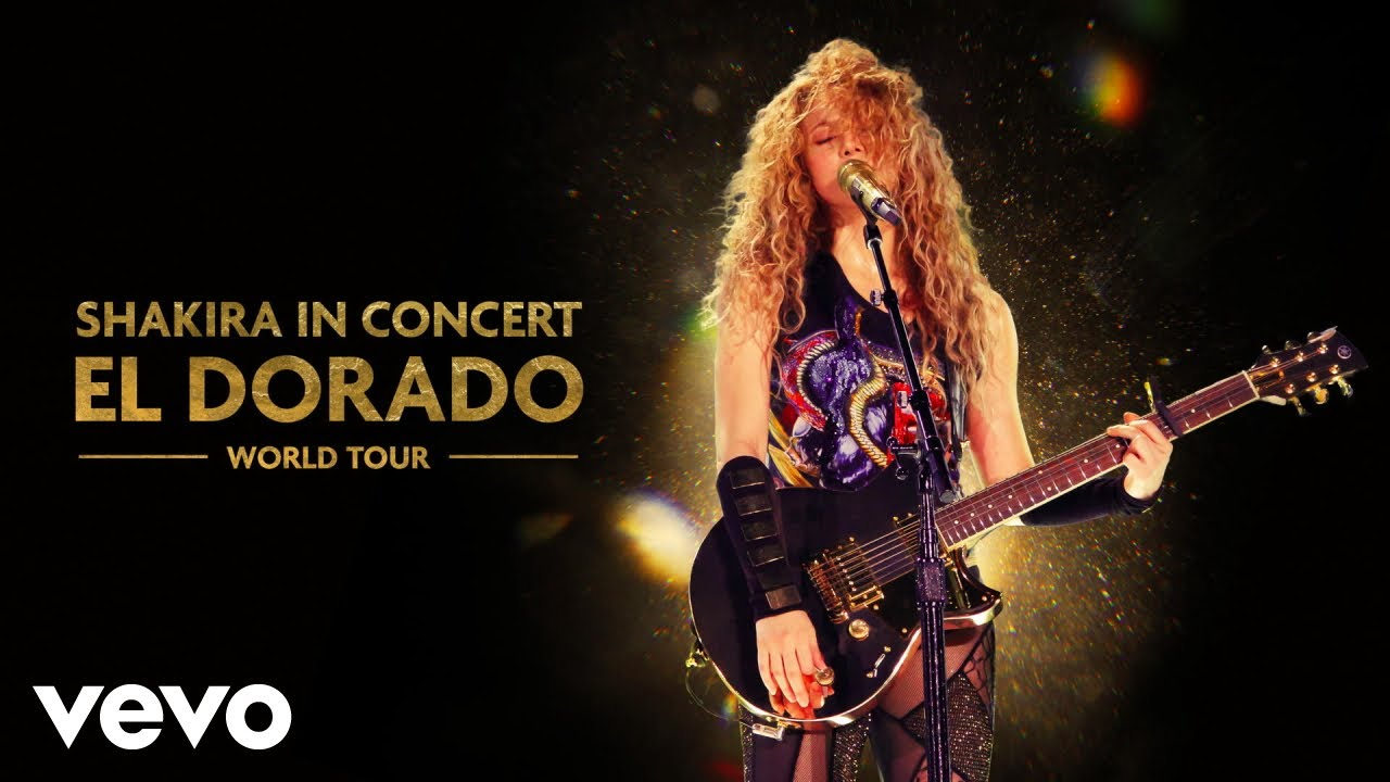 Download Shakira - Antologia (Audio - El Dorado World Tour Live)