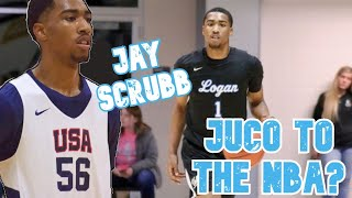 JUCO to the NBA? | The Rise of Jay Scrubb | NBA Draft Sleeper | LA Clippers