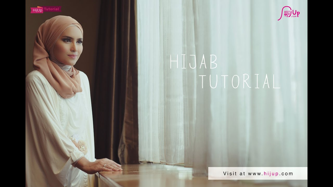 Hijab Tutorial Special Eid Ul Fitr With Zahratul Jannah YouTube