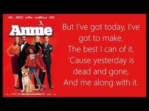 Who Am I Lyrics (Annie 2014)