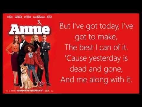 Who Am I Lyrics Annie 2014