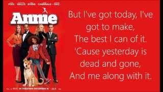 Who Am I Lyrics (Annie 2014)