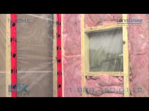 Shower Niche By Dix Systems How To Install Recessed Shower Shelf   YouTube