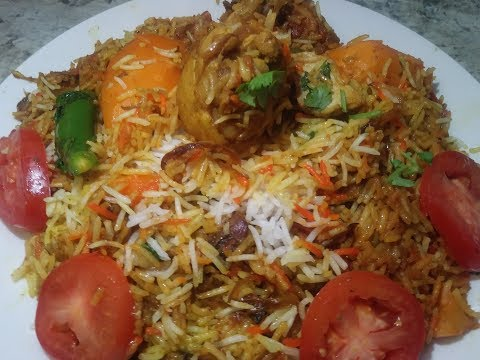 Karachi Style Chicken Biryani/ Easy Chicken Biryani Recipe