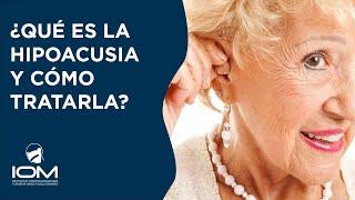 ¿Qué es la hipoacusia y cómo tratarla adecuadamente? - Dr Harguindey Antolí-Candela