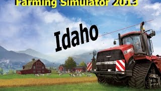 Farming Simulator 2013 Idaho Map EP 46 Harvest time