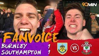 Burnley 1-1 Southampton | Gabbiadini scores a last-minute equalizer in 1-1 draw! | 90min FanVoice