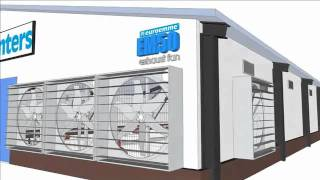 Munters climate control for poultry   swine farm   sialkot YOU TUBE