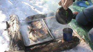 Bushcraft Breakfast - Cinnamon French Toast, Sausage And Coffee